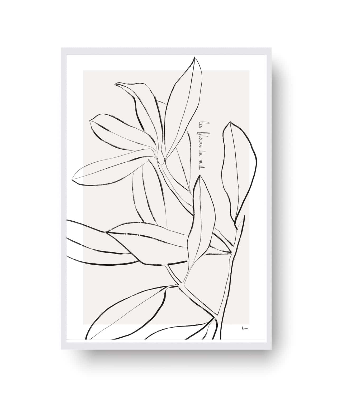 Les Fleurs du Mal in Line Art is composed as a visual metaphor of Les Fleurs du Mal, amajor work of French poetry by Charles Baudelaire