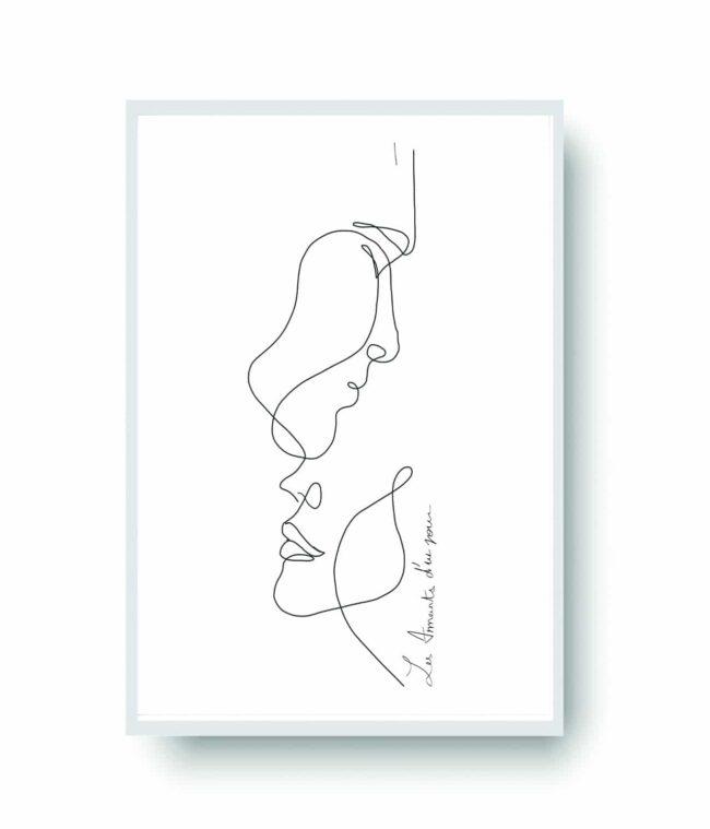 Les Amants d'un Jour   Art by Ninon
