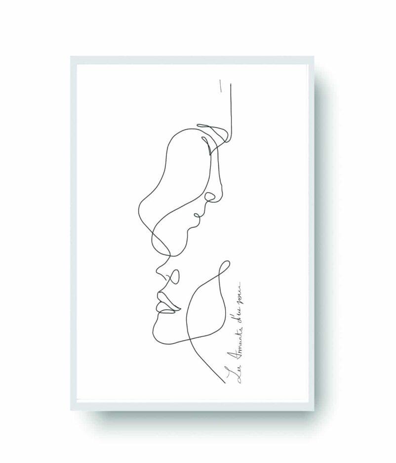 Les Amants d'un Jour | Art by Ninon
