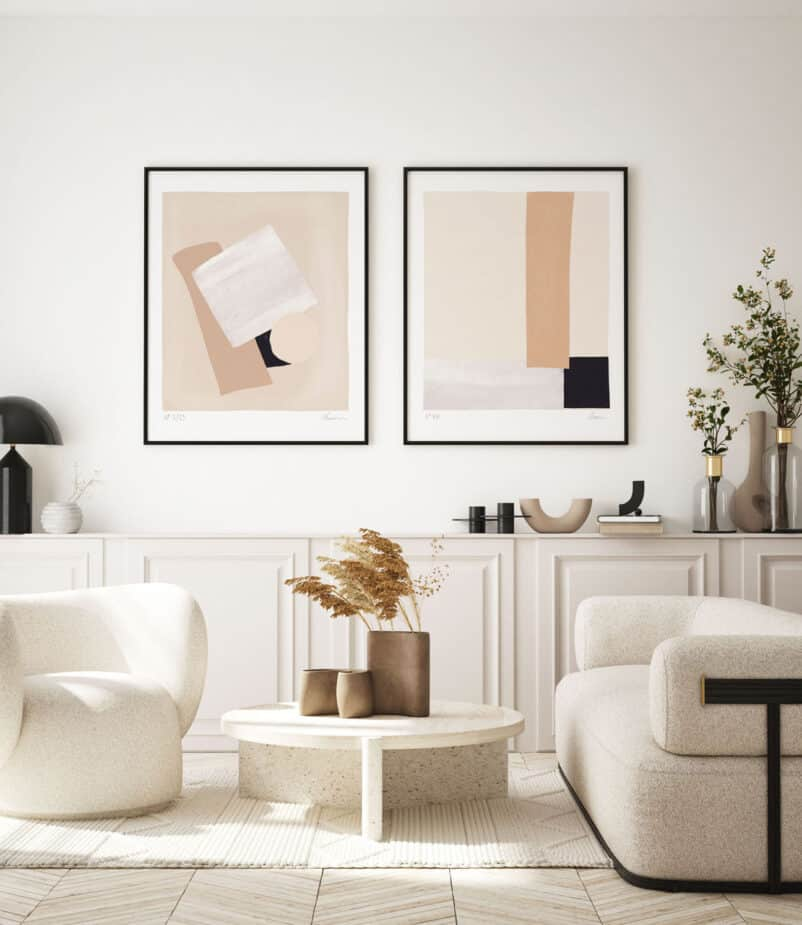 The Quatre Series | An Abstract Composition by Ninon